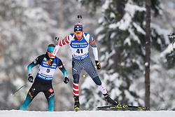 March 9, 2019 - –Stersund, Sweden - 190309 Leif Nordgren of USA competes in the Men's 10 KM sprint during the IBU World Championships Biathlon on March 9, 2019 in Östersund..Photo: Petter Arvidson / BILDBYRÃ…N / kod PA / 92252 (Credit Image: © Petter Arvidson/Bildbyran via ZUMA Press)