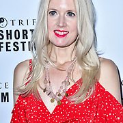 Rebekah Smith attend TriForce Short Festival, on 30 November 2019, at BFI Southbank, London, UK.