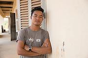 ICS team leader Thai Long Phlai Banteay Char, near Battambang, Cambodia.