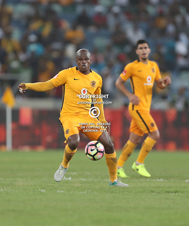 DURBAN, SOUTH AFRICA - FEBRUARY 18: Willard Katsande of Kaizer Chiefs during the Absa Premiership match between Kaizer Chiefs and Highlands Park at Moses Mabhida Stadium on February 18, 2017 in Durban, South Africa. (Photo by Steve Haag/Gallo Images)