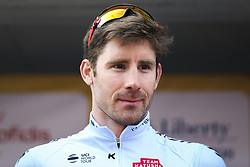February 14, 2018 - Lagos, Portugal - Jos Gonalves of Team Katusha Alpecin before the 1st stage of the cycling Tour of Algarve between Albufeira and Lagos, on February 14, 2018. (Credit Image: © Str/NurPhoto via ZUMA Press)