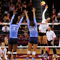 USC Women's Volleyball v UNC