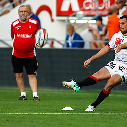 Lionel Beauxis of Lyon during the pre-season match between Rc Toulon and Lyon OU at Felix Mayol Stadium on August 17, 2017 in Toulon, France. (Photo by Guillaume Ruoppolo/Icon Sport)