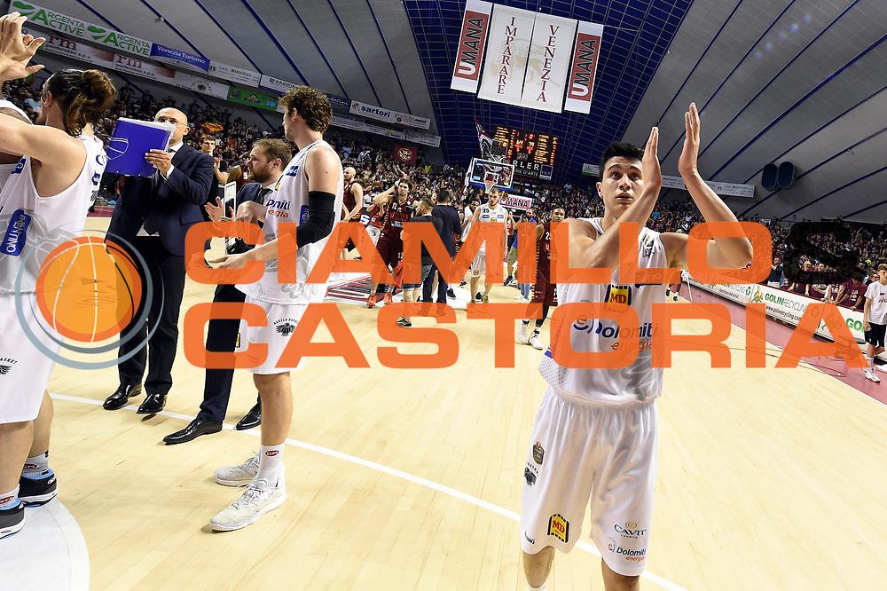 Andrea Bernardi<br /> Umana Reyer Venezia - Dolomiti Energia Aquila Basket Trento<br /> Lega Basket Serie A 2016/2017<br /> Playoff, finale gara 2<br /> Venezia, 12/06/2017<br /> Foto M.Ceretti / Ciamillo-Castoria