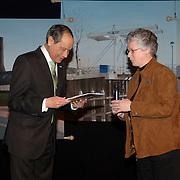 NLD/Huizen/20060324 - Afscheid burgemeester Jos Verdier van de bevolking als burgemeester van Huizen,
