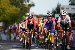 Amalie Dideriksen (DEN) crosses the line on Ladies Tour of Norway 2019 - Stage 2, a 131 km road race from Mysen to Askim, Norway on August 23, 2019. Photo by Sean Robinson/velofocus.com