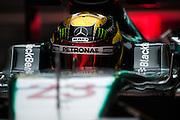 February 19-22, 2015: Formula 1 Pre-season testing Barcelona : Pascal<br /> Wehrlein, Mercedes