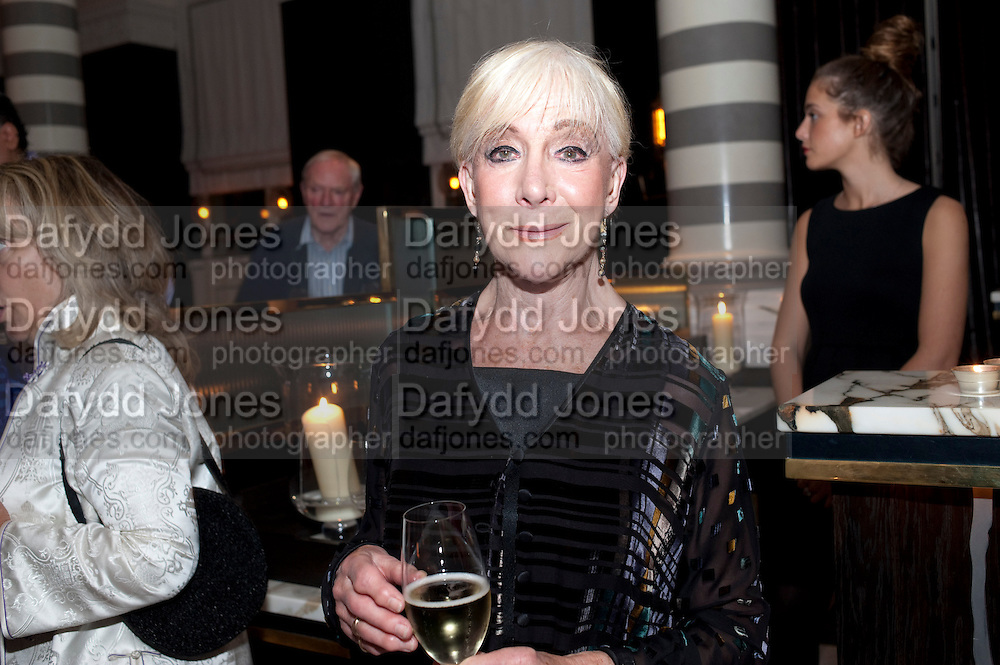 SHEILA STEAFEL; , Massimo's restaurant at the Corinthia Hotel, Whitehall  host the after party  for 'Claire Rayner's benefit show' 5 June 2011. <br /> <br />  , -DO NOT ARCHIVE-© Copyright Photograph by Dafydd Jones. 248 Clapham Rd. London SW9 0PZ. Tel 0207 820 0771. www.dafjones.com.