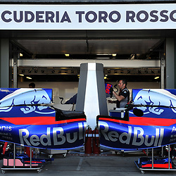 Scuderia Toro Rosso.<br /> <br /> Round 1 - 2nd day of the 2017 Formula 1 Rolex Australian Grand Prix at The circuit of Albert Park, Melbourne, Victoria on the 24th March 2017.<br /> Wayne Neal | SportPix.org.uk