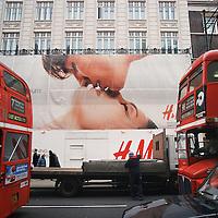 Kiss on Oxford Street....