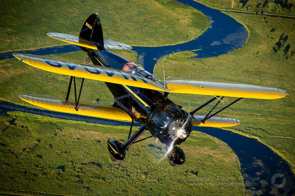 Waco 53HD N14048 flown by John Ricciotti