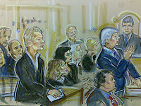Julian Assange appears at his bail hearing Westminster Magistrates Court, December 14,