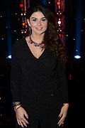 Opnamen van SBS Bloed, Zweet & Tranen , een zoektocht naar het beste nieuwe Nederlandstalige zangtalent.<br /> <br /> Op de foto:  Roxeanne Hazes