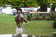 Georgia Dixon riding Fiderpoppy during the International Horse Trials at Chatsworth, Bakewell, United Kingdom on 12 May 2018. Picture by George Franks.