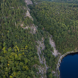 Mount Kineo in Moosehead Lake Maine USA