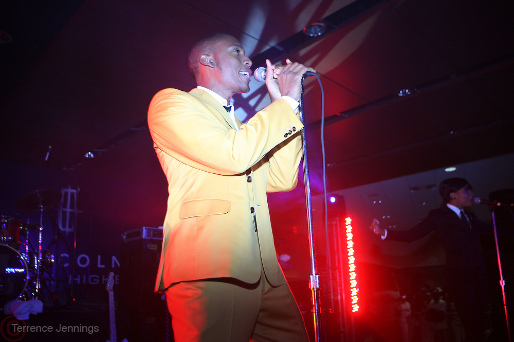 Raphael Saddiq performs at The Lincoln Lounge during The 2009 Essence Music Festival held at the Superdome in New Orleans, Louisiana on July 5, 2009