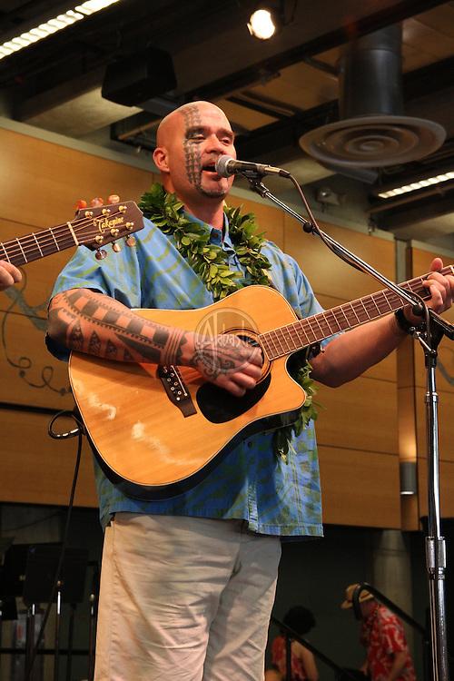 Hi'ikua performing at the Annual Live Aloha Festival 2011.