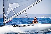 Beliczay Márton, Finn sailing, Hyeres