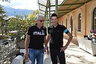 40a Edizione del Giro del Trentino Melinda conferenza Stampa degli Atleti, Arco 18 Aprile 2016 © foto Daniele Mosna