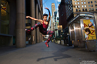 Khadija Griffith Dance As Art New York Photography Project- 42nd Street