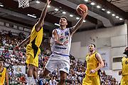 """DESCRIZIONE : Torneo Città di Sassari """"Mimì Anselmi"""" Dinamo Banco di Sardegna Sassari - AEK Atene<br /> GIOCATORE : Brian Sacchetti<br /> CATEGORIA : Tiro Penetrazione Sottomano<br /> SQUADRA : Dinamo Banco di Sardegna Sassari<br /> EVENTO :  Torneo Città di Sassari """"Mimì Anselmi"""" <br /> GARA : Dinamo Banco di Sardegna Sassari - AEK Atene Torneo Città di Sassari """"Mimì Anselmi""""<br /> DATA : 12/09/2015<br /> SPORT : Pallacanestro <br /> AUTORE : Agenzia Ciamillo-Castoria/L.Canu"""