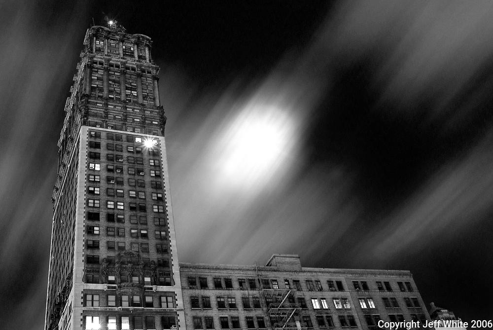 Full moon in Detroit 3/13/2006