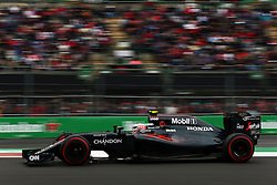 Jenson Button (GBR) McLaren MP4-31.<br /> 28.10.2016. Formula 1 World Championship, Rd 19, Mexican Grand Prix, Mexico City, Mexico, Practice Day.<br /> Copyright: Batchelor / XPB Images / action press