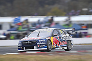 20th May 2018, Winton Motor Raceway, Victoria, Australia; Winton Supercars Supersprint Motor Racing; Shane van Gisbergen drives the number 97 Triple Eight Race Engineering Holden Commodore ZB during race 14 of the 2018 Supercars Championship