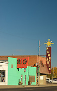 Idaho, Cassia County, Burley. Downtown shops.