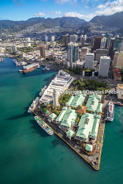 Aloha Tower, Marketplace, Honolulu, Oahu, Hawaii