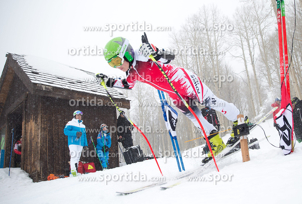 30.01.2015, Golden Peak Strecke, Vail, USA, FIS Weltmeisterschaften Ski Alpin, Training, im Bild Nicole Schmidhofer (AUT) // Nicole Schmidhofer of Austria in Action during a practice run for the FIS Ski World Championships 2015 at the Golden Peak Course, Vail, United States on 2015/01/30. EXPA Pictures © 2015, PhotoCredit: EXPA/ Johann Groder