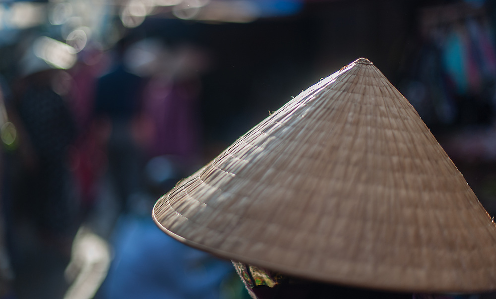 Vietnames traditional conic hat
