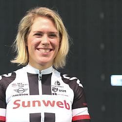 05-01-2017: Wielrennen: Presentatie Sunweb Giant: Rotterdam  <br />MUNSTER (GER) wielrennen  <br />Ellen van Dijk