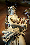 Costa Rica, San Jose, National Theater, Lobby, Italian Marble Sculpture, Built In 1897