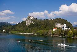 51st Prvomajska Regatta Bled 2010, on April 25, 2010, at Lake Bled, Bled, Slovenia. (Photo by Vid Ponikvar / Sportida)