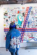 The gallery of Espo's Art World.