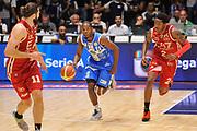 DESCRIZIONE : Sassari Lega Serie A 2014/15 Beko Supercoppa 2014 Finale Olimpia EA7 Emporio Armani Milano - Dinamo Banco di Sardegna Sassari<br /> GIOCATORE : Jerome Dyson<br /> CATEGORIA : Palleggio Contropiede<br /> SQUADRA :  Dinamo Banco di Sardegna Sassari<br /> EVENTO :  Beko Supercoppa 2014 <br /> GARA : Olimpia EA7 Emporio Armani Milano - Dinamo Banco di Sardegna Sassari<br /> DATA : 05/10/2014 <br /> SPORT : Pallacanestro <br /> AUTORE : Agenzia Ciamillo-Castoria/ Luigi Canu<br /> Galleria : Lega Basket A 2014-2015 <br /> Fotonotizia : Sassari Lega Serie A 2014/15 Beko Supercoppa 2014 Finale Olimpia EA7 Emporio Armani Milano - Dinamo Banco di Sardegna Sassari<br /> Predefinita :