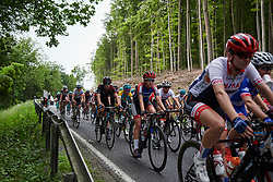 Lea Lin Teutenberg (GER) and Tiffany Cromwell (AUS) at Lotto Thuringen Ladies Tour 2018 - Stage 2, an 136 km road race starting and finishing in Meiningen, Germany on May 29, 2018. Photo by Sean Robinson/Velofocus.com