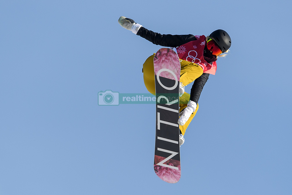 February 19, 2018 - Pyeongchang, SOUTH KOREA - 180219 Silje Norendal of Norway competes in the Women's Big Air Qualification during day ten of the 2018 Winter Olympics on February 19, 2018 in Pyeongchang..Photo: Carl Sandin / BILDBYRN / kod CS / 57999_306 (Credit Image: © Carl Sandin/Bildbyran via ZUMA Press)