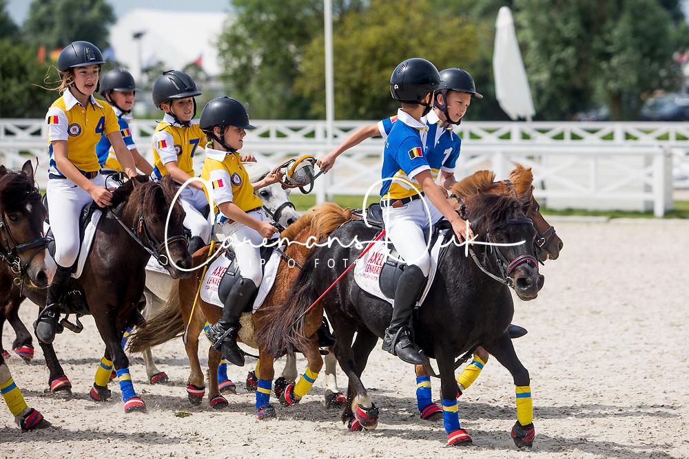 Mini Horseball<br /> Knokke Hippique 2019<br /> © Hippo Foto - Sharon Vandeput<br /> 30/06/19