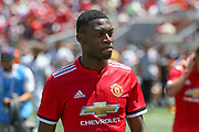 Manchester United Defender Timothy Fosu-Mensah during the AON Tour 2017 match between Real Madrid and Manchester United at the Levi's Stadium, Santa Clara, USA on 23 July 2017.
