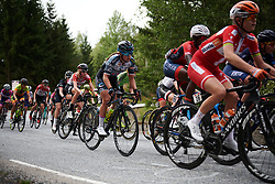 Susanne Andersen (NOR) on the categorised climb at Ladies Tour of Norway 2018 Stage 3. A 154 km road race from Svinesund to Halden, Norway on August 19, 2018. Photo by Sean Robinson/velofocus.com
