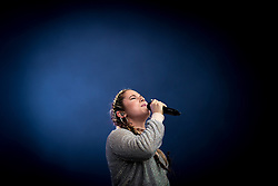 © Licensed to London News Pictures . 12/06/2016 . Manchester , UK . KATY B performs at the Parklife music festival at Heaton Park in Manchester . Photo credit : Joel Goodman/LNP