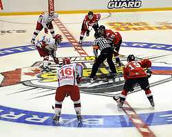Game 3 of the SUBWAY Super Series in Barrie, ON on Thursday November 19. Photo by Aaron Bell/OHL Images
