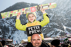 Young fan of Peter Prevc during Ski Flying Hill Individual Competition at Day 4 of FIS Ski Jumping World Cup Final 2016, on March 20, 2016 in Planica, Slovenia. Photo by Vid Ponikvar / Sportida