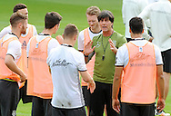 Joachim Low, head coach of Germany speaks to his players during training at Stadio Communale, Ascona<br /> Picture by EXPA Pictures/Focus Images Ltd 07814482222<br /> 31/05/2016<br /> ***UK &amp; IRELAND ONLY***<br /> EXPA-EIB-160531-0024.jpg