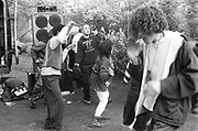 Criminal Justice Act (CJA) Protest Rally, Wanstead Common, East London, March 1994