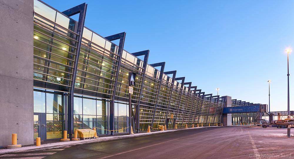 Keflavík airport, Iceland.