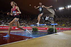 2018?7?21?.    ????????——??????????????.    7?20???????Soufiane El Bakkali????????.    ??????????????????3000???????????Soufiane El Bakkali?7:58.15????????.    ?????????... (SP)MONACO-FONTVIEILLE-ATHLETICS-IAAF-DIAMOND LEAGUE..(180721) -- FONTVIEILLE, July 21, 2018  Soufiane El Bakkali (R) of Morocco competes during the mens' 3000m steeple match of the IAAF Diamond League competitions in Fontvieille, Monaco on July 20, 2018. Soufiane El Bakkali claimed the title with  7:58.15. (Credit Image: © Chen Yichen/Xinhua via ZUMA Wire)