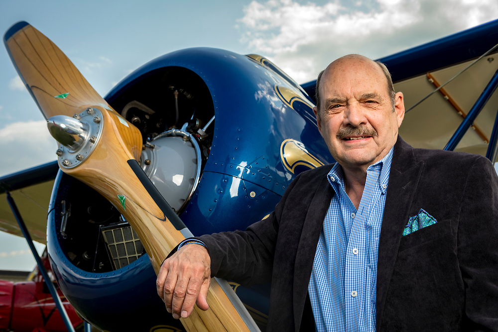 John Petersen, former Chairman of the Lindbergh Foundation.<br />